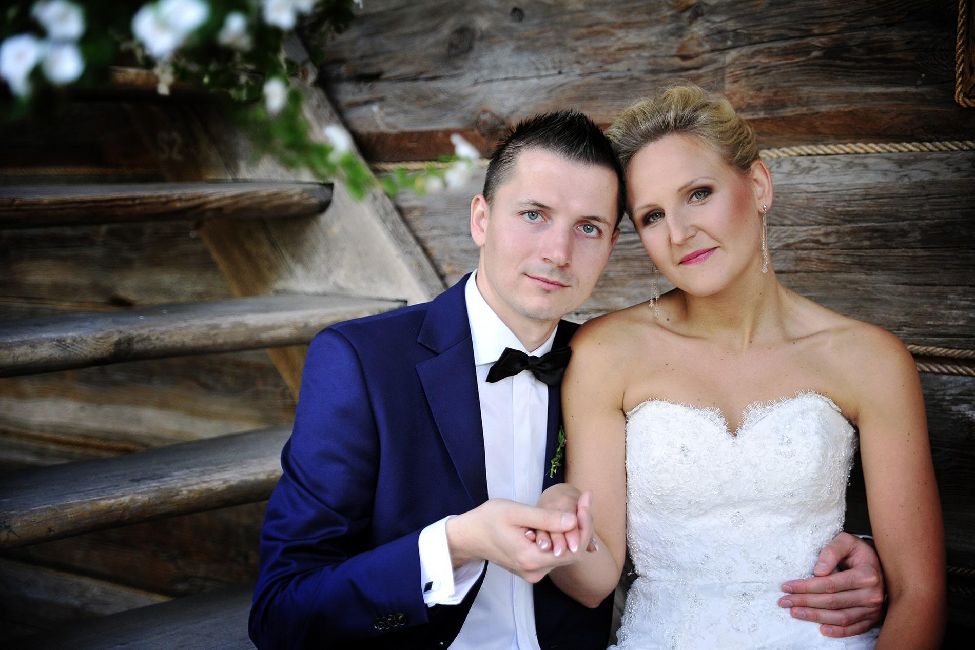 zdjęcie nowożeńców