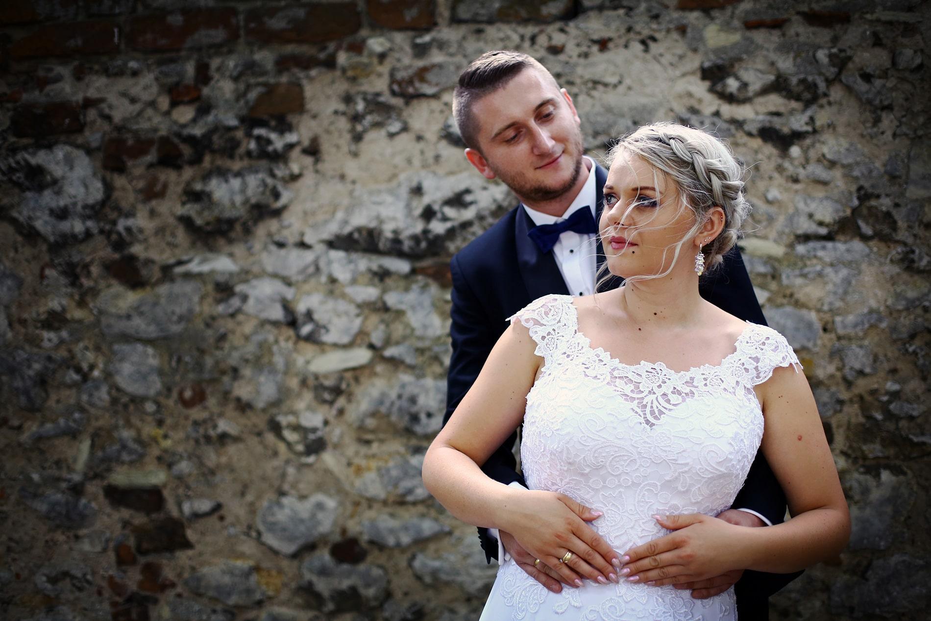 Zdjęcie z sesji ślubnej